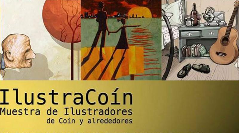 IlustraCoín, exposición de ilustradores de Coín y alrededores