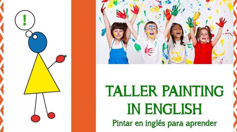 taller para niños Painting in English